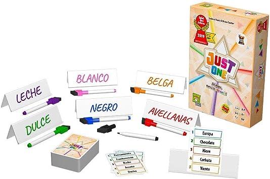 Asmodee- Just One - español, Color (RPJU0001): Amazon.es: Juguetes y juegos