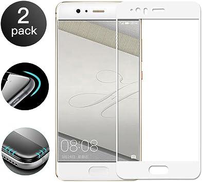 2 Unidades]Huawei P10 Lite Protector de Pantalla[Cobertura ...