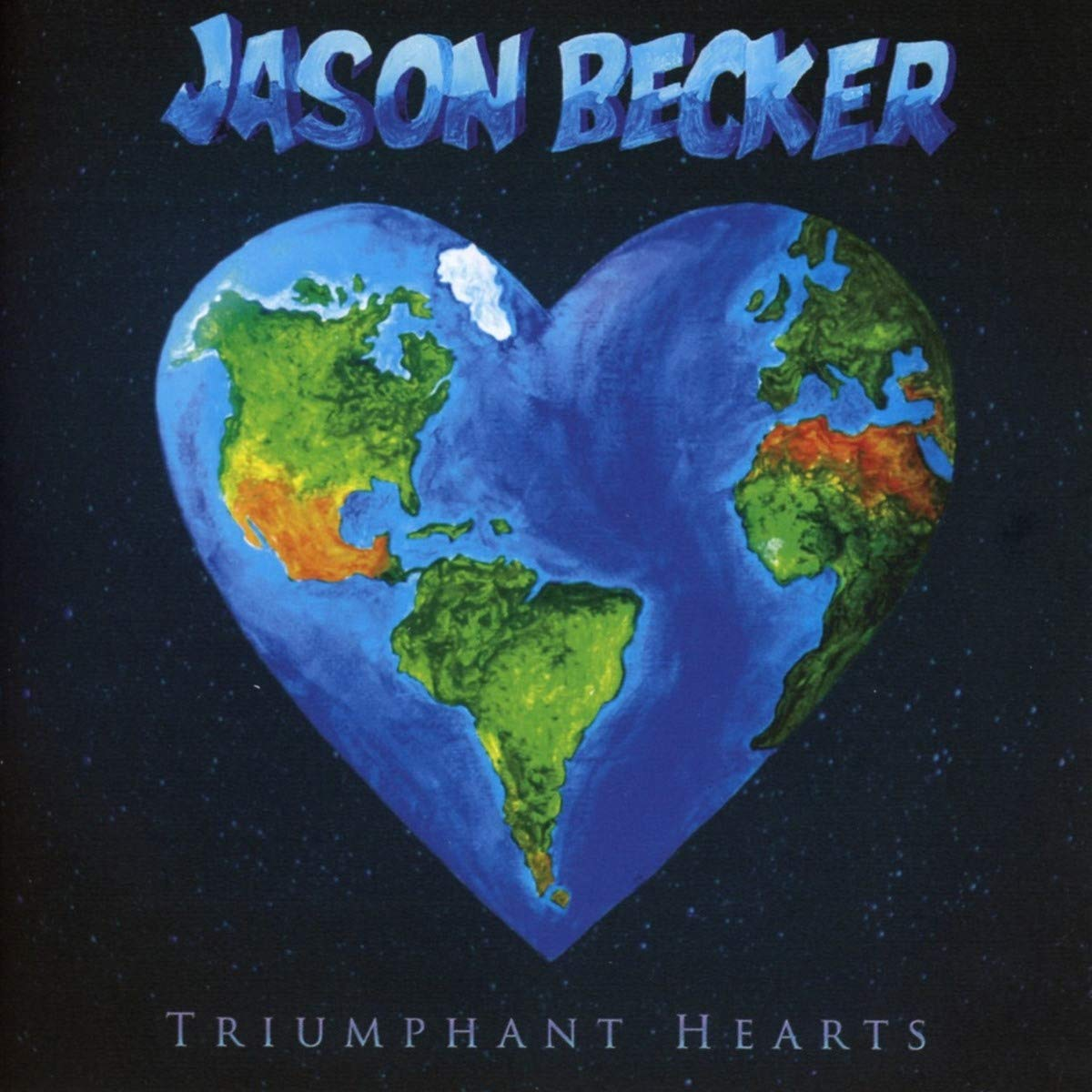 CD : Jason Becker - Triumphant Hearts (CD)