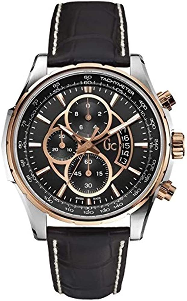 GUESS Gc Leather Mens Watch X81007G2S
