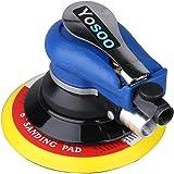 Random Orbital sander, 6'' Air Random Orbital Palm Polisher Sander Vacuum Pneumatic Hand Tools 150mm Ideal for the DIY and Home Decoration