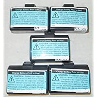 Lot of 5 New Zebra OEM Battery for QLn320 / QLn220 Mobile Printers P/N: P1051378