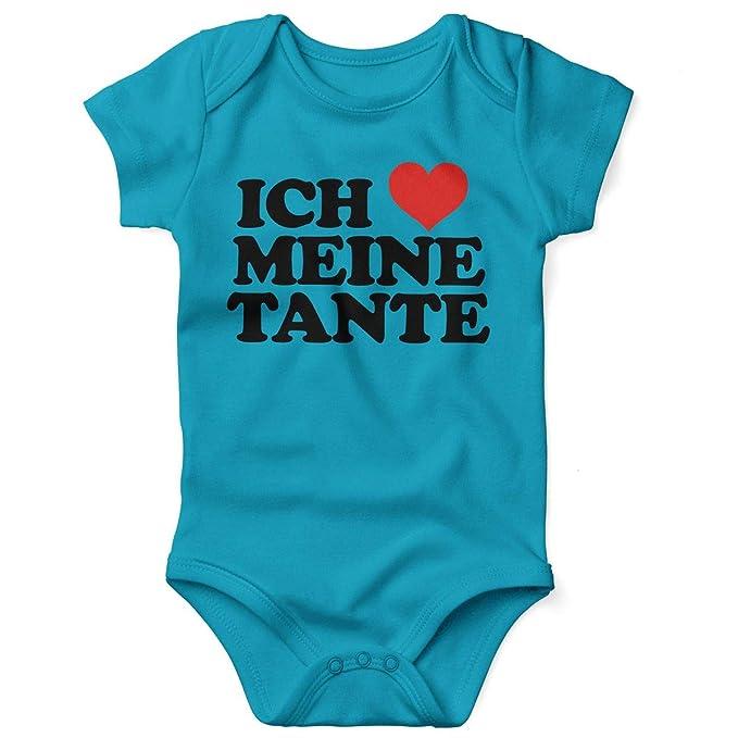 Gutes Aussehen Patin Junge Spr/üche Baby blau//wei/ß Baby T-Shirt Kurzarm