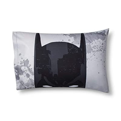 Batman Knight Hero Pillowcase Kids Pillowcase - Reversible Design: Home & Kitchen
