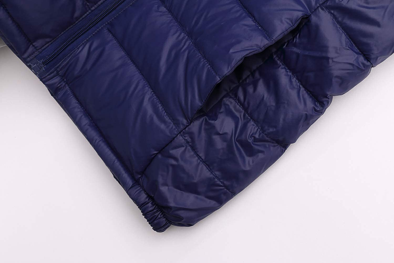 UGREVZ Unisex Big Girls Boys Light Winter Outerwear Teens Hooded Down Jacket Coat 9-14T
