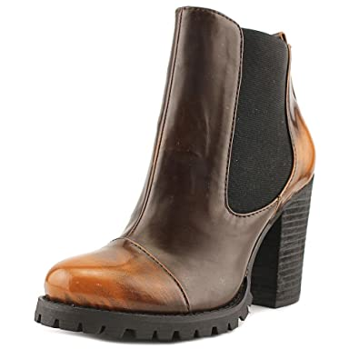 Women's Elise - Bobby Beige Smooth PU Boot 6.5 M