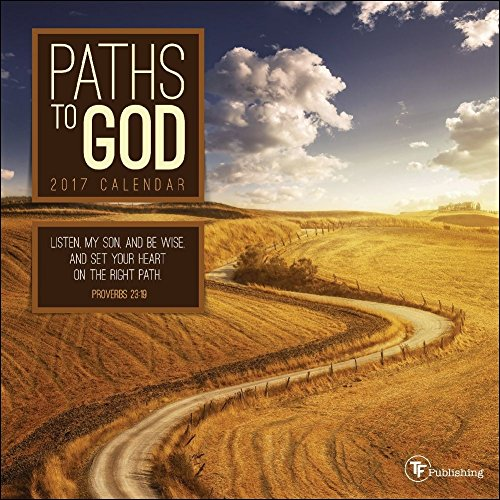 TF Publishing 2017 Paths to God Mini Calendar (17-2084)