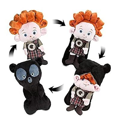 "Disney Brave Triplet Bear Cub Reversible Plush Toy 13"": Toys & Games"