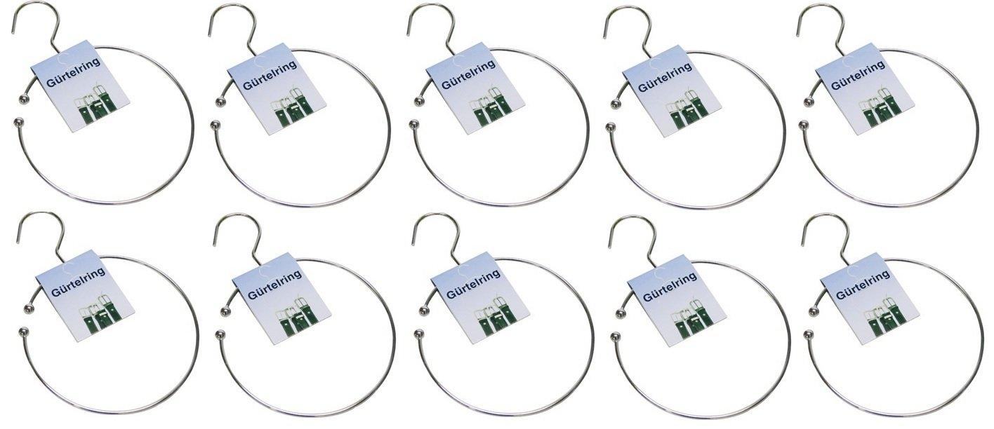 3 Unbekannt Anillos De Cinta /Ø 14cm Clip De Cintur/ón Anillo Lazo Hebilla De Cintur/ón