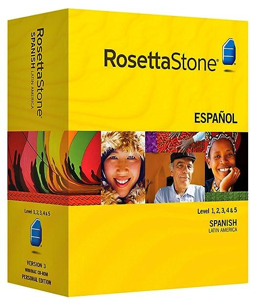 Purchase Rosetta Stone - Learn Spanish (Latin America) (Level 1, 2, 3, 4 & 5 Set) Software