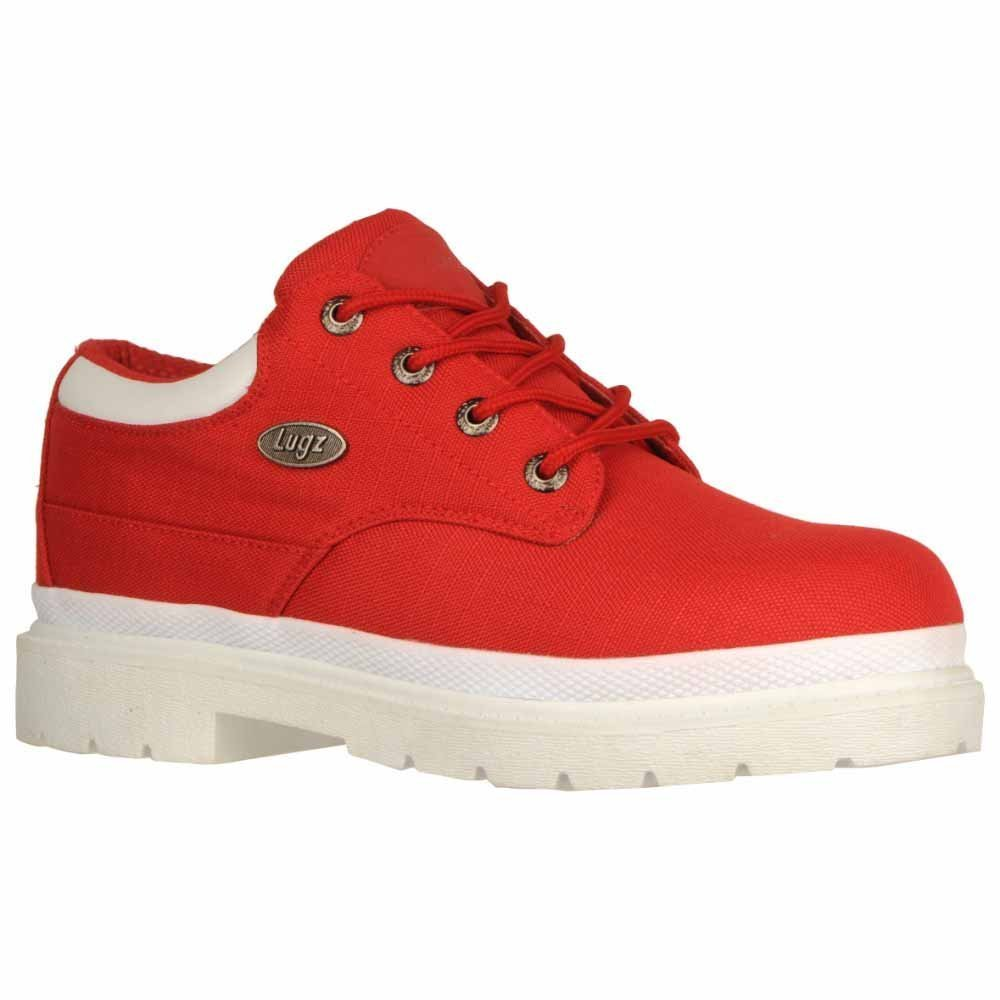 Lugz Men's Drifter Lo Ripstop Boots,Red,10.5 D