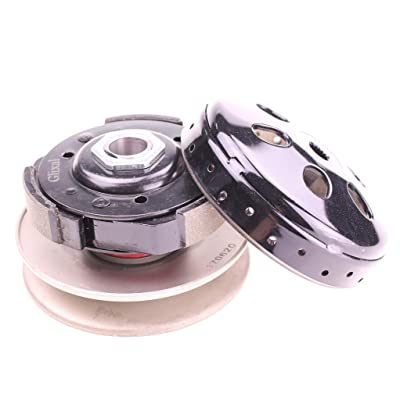 Glixal High Performance Racing Clutch Assy with Clutch Bell for GY6 125cc 150cc 157QMJ 152QMI Engine Chinese Scooter Moped ATV Go-Kart: Automotive