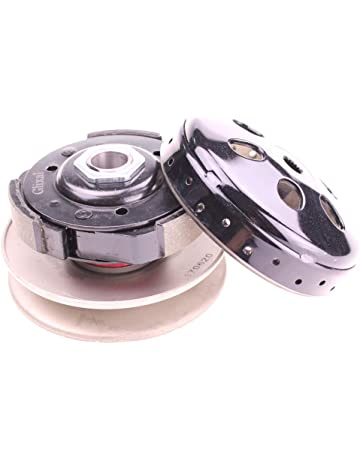 Glixal High Performance Racing Clutch Assy with Clutch Bell for GY6 125cc 150cc 157QMJ 152QMI Engine