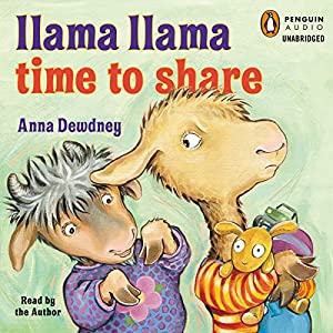 Llama Llama Time to Share Audiobook