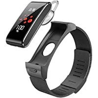 Smart Watch with Headset, Color Screen Ip65 Waterproof Fitness Tracker, Sleep Heart Rate Monitor Sedentary Reminder…