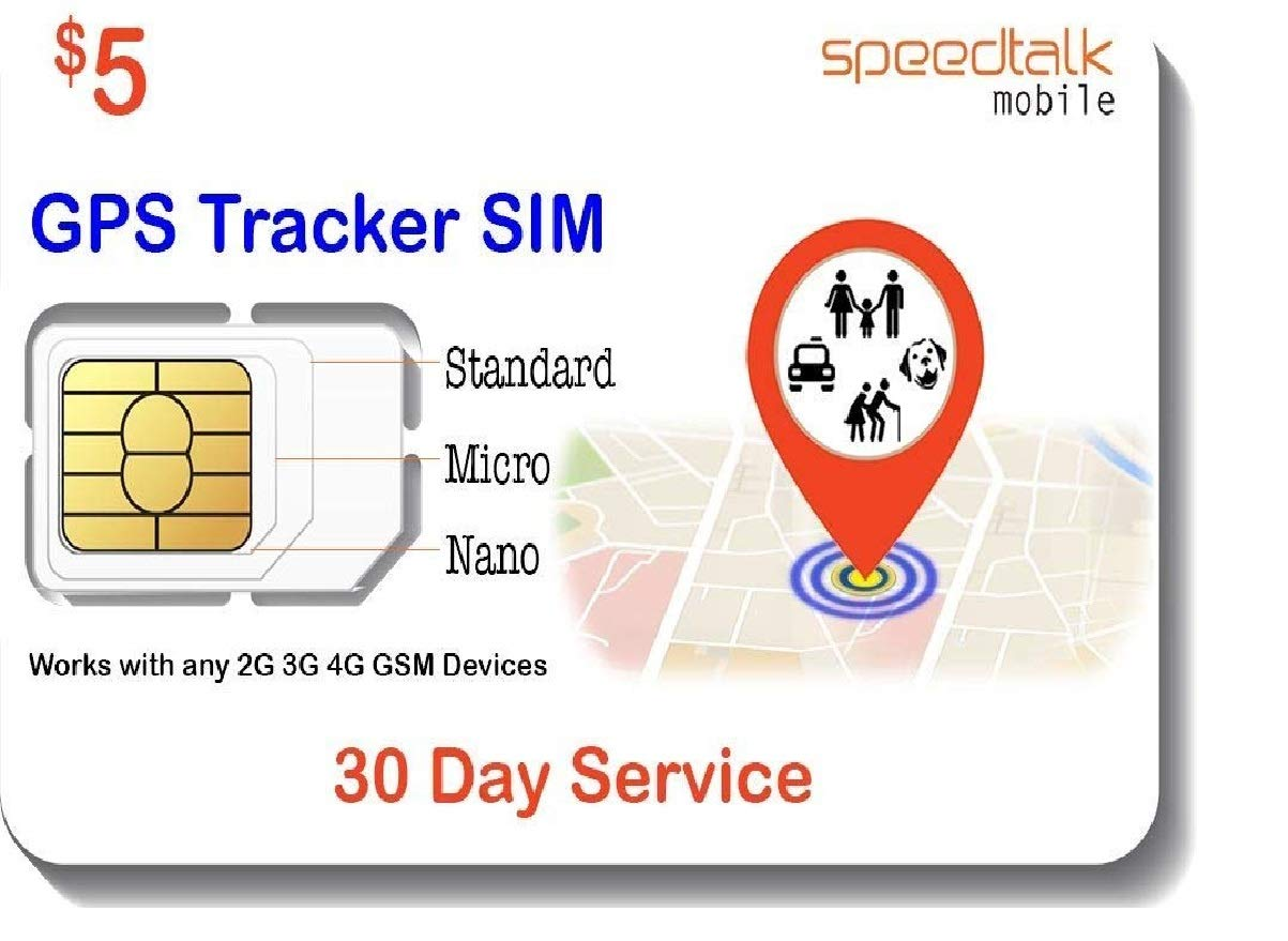 Amazon.com: GSM SIM Card for GPS Trackers - Pet Kid Senior ...