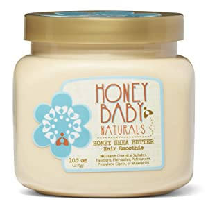 Honey Baby Naturals Honey Shea Butter Hair Smoothie, 10.5 Ounce