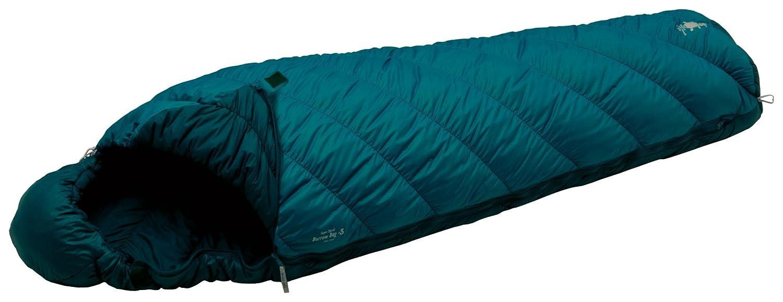 マミー型寝袋:モンベル バロウバッグ