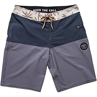 0eaeb3614a Howler Brothers Damian Stretch Boardshort - Men's Grey/Navy, 40 ...