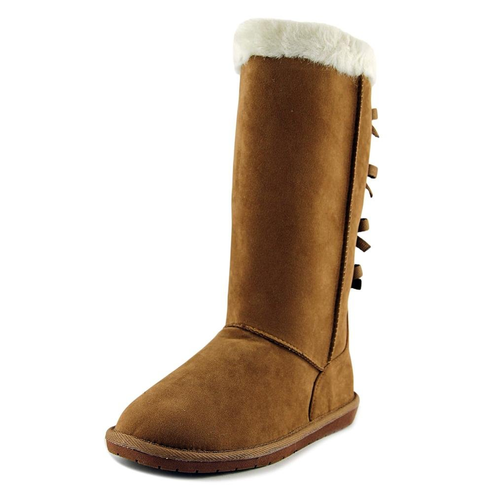 Rampage Women's Piper Fx Fur Lined Winter Fashion Calf High Cold Weather Winter Boot Fx Suede 7 Camel