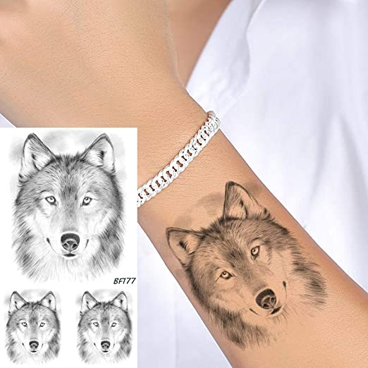 tzxdbh 5 Unids Mujeres Arte Corporal Tatuaje Temporal Pegatinas ...