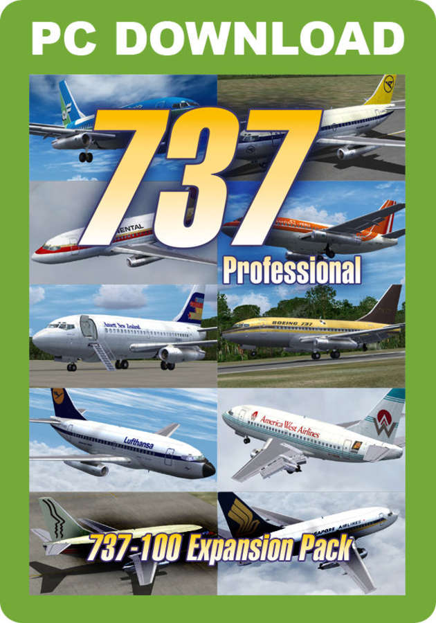 737 Professional - 737-100 Expansion Pack [Download]