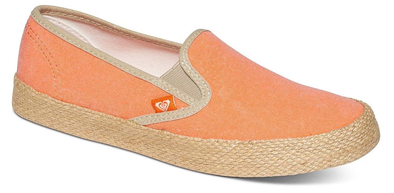 Roxy Damen Redondo Jute Slip on Shoes Sneakers, Schwarz (Black Blk), 41 EU