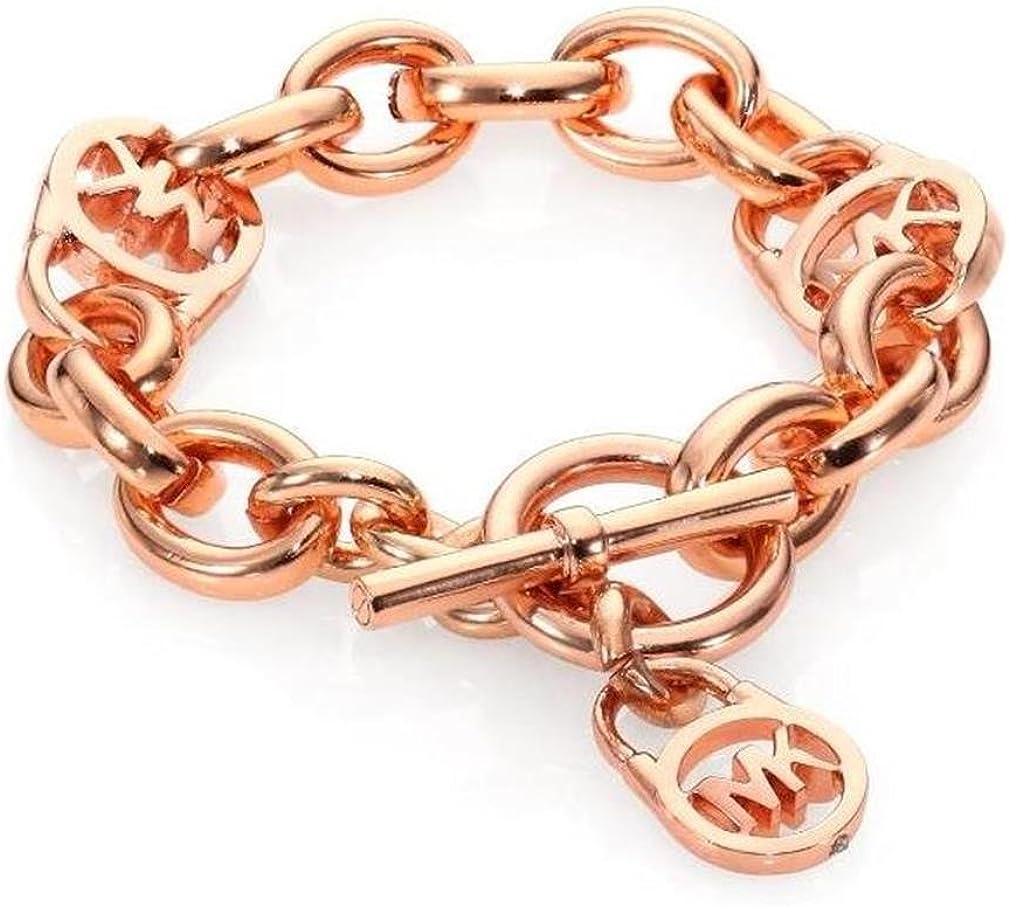 Michael Kors mkj2752 Rose Gold Vorhängeschloss Kette Armband
