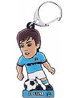 Manchester City F.C. PVC Keyring Silva
