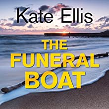 The Funeral Boat Audiobook by Kate Ellis Narrated by Gordon Griffin