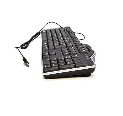New 9KYD5 Autentico Fabricante Dell KB813t Black Silver Trim SPANISH LATIN AMERICAN Layout Computadora de Escritorio