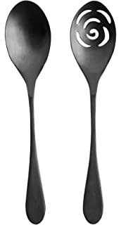 Knork 274 Black Matte Titanium Finish Serving Spoons