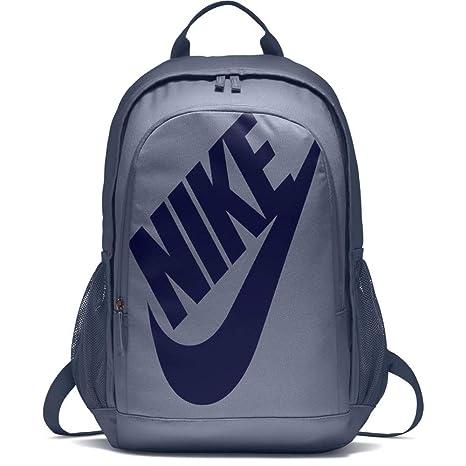 Men s Nike Sportswear Hayward Futura 2.0 Backpack Ashen Slate Black Blue  Void Size One 5ebd54cdb