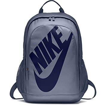 Men s Nike Sportswear Hayward Futura 2.0 Backpack Ashen Slate Black Blue  Void Size One 6fcb69946a0b8