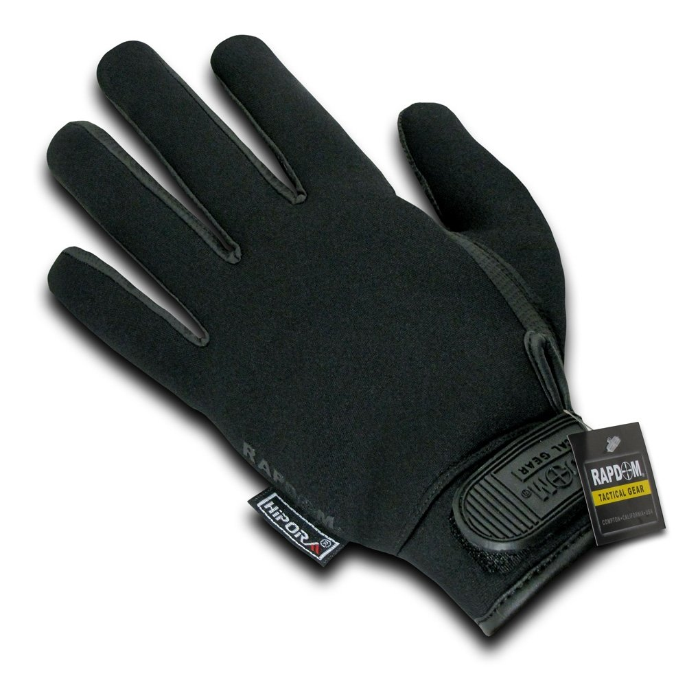 Black tactical gloves - Amazon Com Rapdom Tactical Neoprene Waterproof Gloves Sports Outdoors