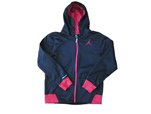 3ca05984959806 Amazon.com  Jordan Boys Youth Therma Fit Zippered Hoodie  Clothing