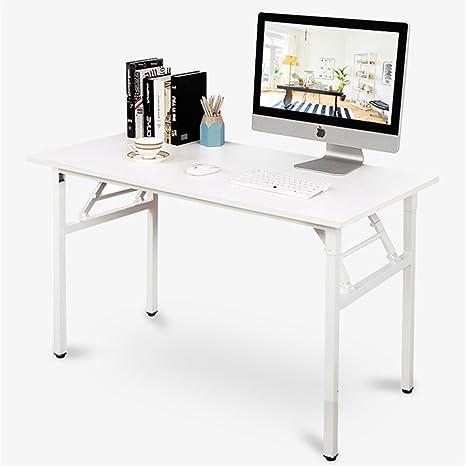 Amazon.com: DlandHome Mesa plegable para ordenador, mesa de ...