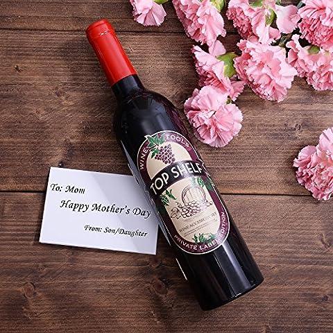 Wine Accessories Gift Set – 5 Pcs Deluxe Wine Corkscrew Opener Sets Bottle Shape in Elegant Gift Box, Great Wine Gifts…