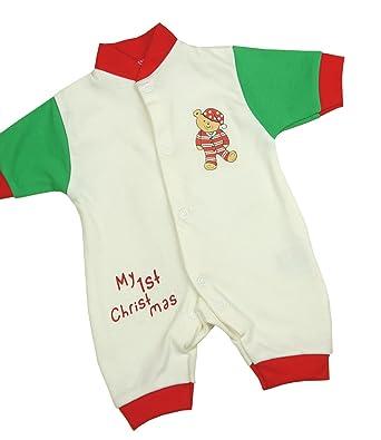 Amazon Com Babyprem Preemie Baby Romper Playsuit My 1st Christmas