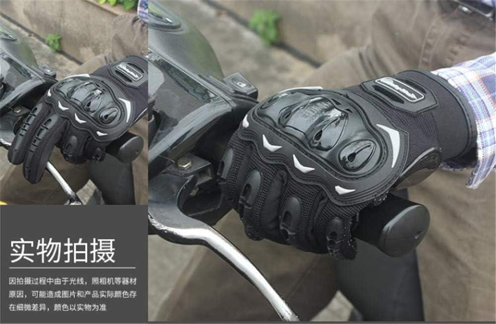 deportes extremos deportes BaronHong Knuckle guantes de motocicleta verde, L Powersports