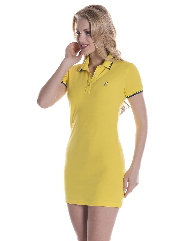 Giorgio Di Mare - Vestido - para Mujer Amarillo XS: Amazon.es ...