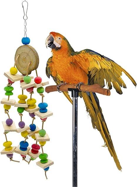 Pájaro Juguete de madera Bocado Bloques de construcción de ...