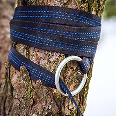 Little River Co. SlingStraps - Extra Long and Light Hammock Tree Hanging Straps Perfect For Hiking, Backpacking, Camping or Yard
