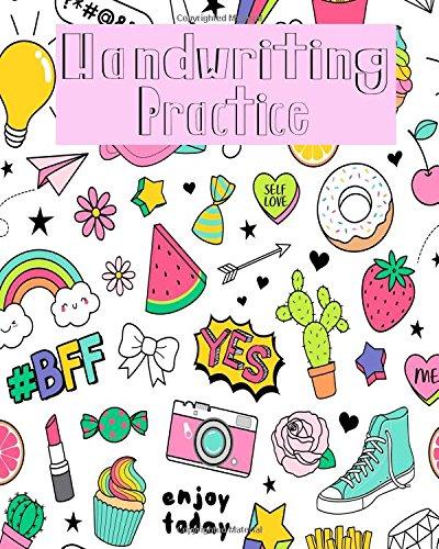 Download Handwriting Practice: Blank Hand Writing For Kids Homwork (Volume 20) pdf epub