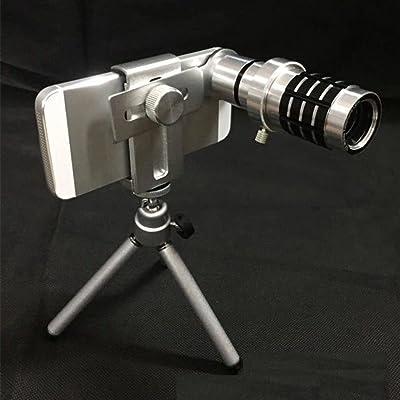 12 Fois le Télescope Universel Télescope Métal 12 Fois Téléobjectif Grand Angle Design Unique Tube