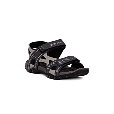 cd902a4bb Duke Men s D.Grey and L.Grey Coloured Synthetic Mesh Sandals 9  Buy Online  at Low Prices in India - Amazon.in