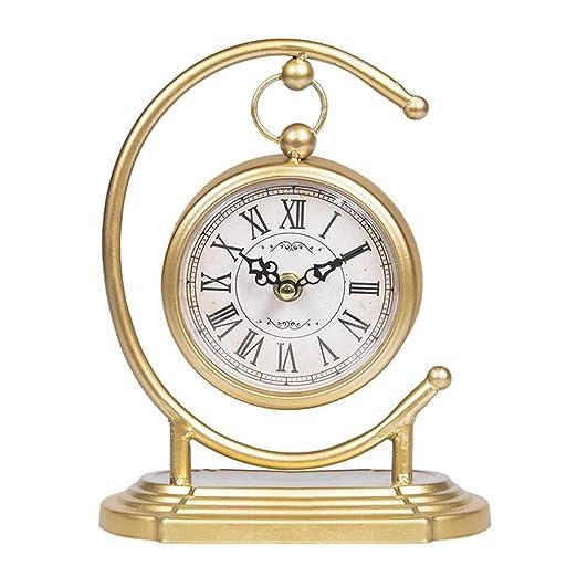 reloj de mesa Reloj de mesa Vintage Sala de estar Decoración ...