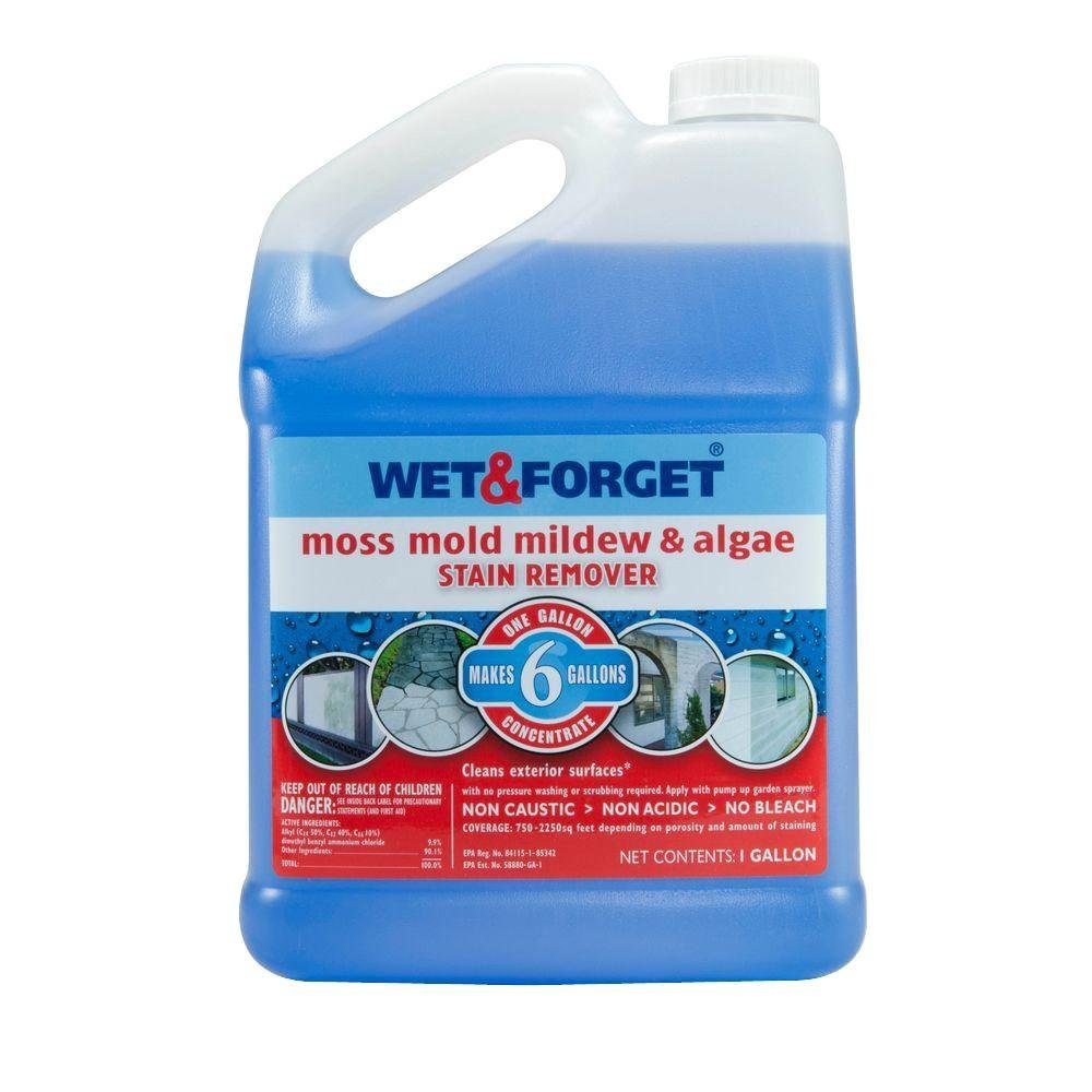 Wet And Forget-Wet & Forget Gal Moss Mold & Mildew Stain Remover