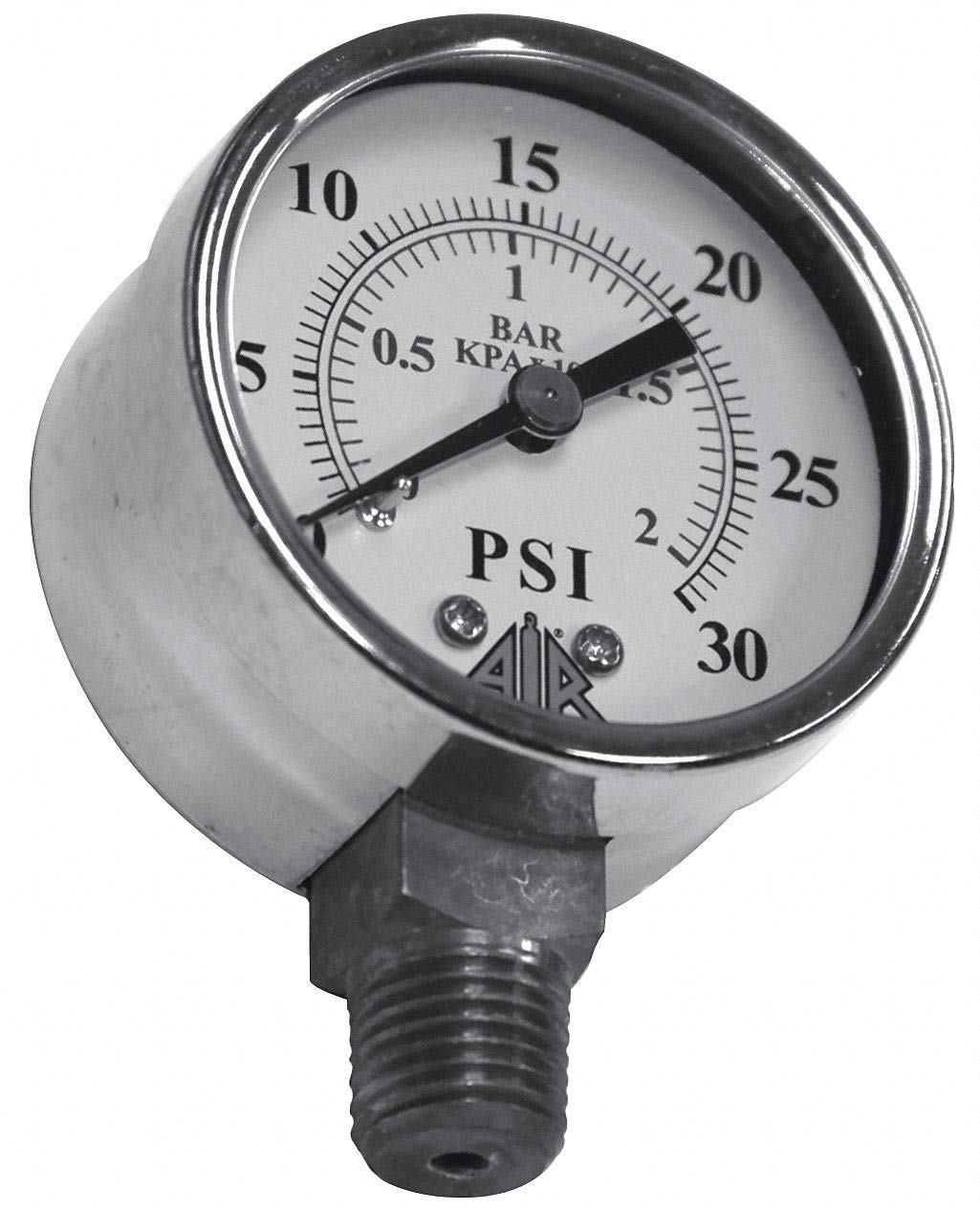 Pressure Gauge, 0-30 psi by Air Systems (International)