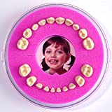 Firsty Round Baby First Tooth Box (pink - girl)